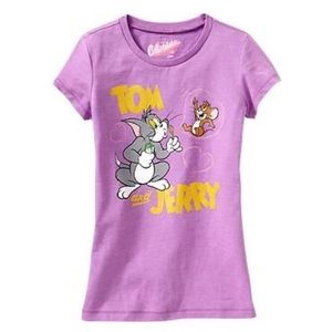 Tom and Jerry 90s Kid Throwback Vintage Style Tee